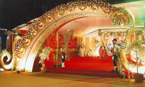 Vasavi decorations and sound service the wedding planner entrance junglespirit Choice Image